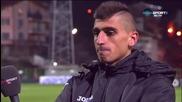 Мнението на Александър Дюлгеров след загубата на Пирин с 0:3 от Славия
