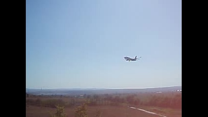 Jetx Airlines Boeing 737 @ Varna Airport