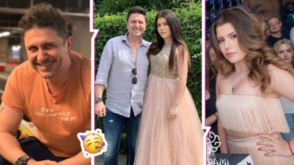 Порасналото момиче на татко: Красивата щерка на Асен Блатечки е абитуриентка