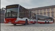 Премиера на най-дългия автобус правен от Mercedes до сега !