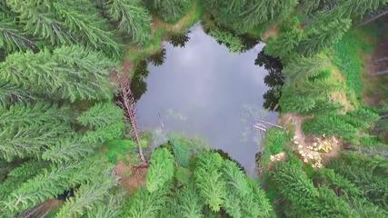 Състезание по бягане на Смолянските езера, заснето с DJI Inspire 1 дрон, PlovdivRun.bg