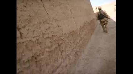 Canadian Foot Patrol In Afghanistan