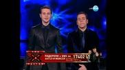 Ангел и Моисей - I Think i'm gonna die - X Factor Bulgaria Концертите
