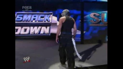 Jeff Interupts The Contract Signing - Smackdown 14th, 2008
