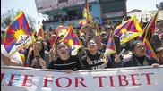 Glastonbury Appearance Dalai Lama's Call
