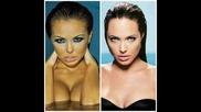 Николета Лозановa прилича на Анджелина Джоли Преценете сами