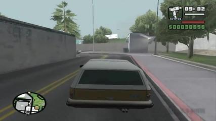 gta san andreas епизод 44- бягство от града