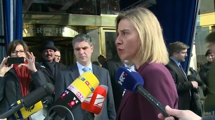 Germany: Mogherini confirms future ISSG talks at Munich Security Conference