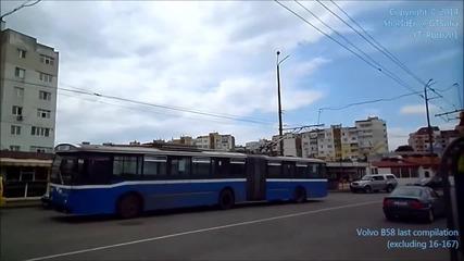 Тролейбуси Volvo B58 Siemens / Прощално