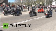 Russia: Thousands march in final V-Day parade rehearsal in Sevastopol