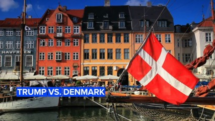 """Nasty"": The Trump/Denmark feud explained"