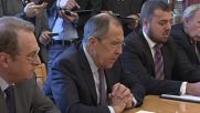 Russia: External Syrian opposition groups 'losing their influence' - Lavrov