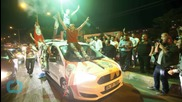 Jubilant Kurds Take to Streets In Celebration After Election Results