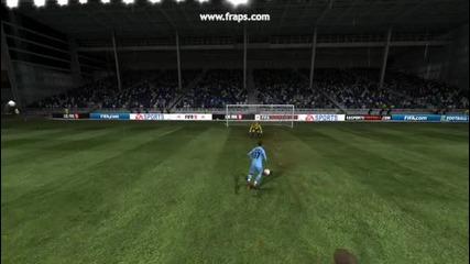 Як финт и гол на Fifa11