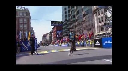 Етиопец и кенийка спечелиха окървавения маратон на Бостън