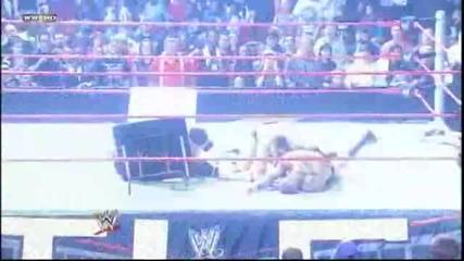 Randy Orton - Powerbomb The Miz - Skull Crushing Finale