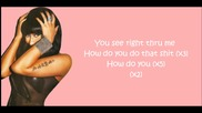 Nicki Minaj - Right Thru Me ( Lyrics Video )