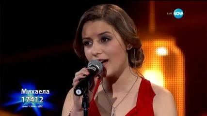 Михаела Маринова - драматична песен - X Factor Live (26.01.2015)