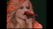Avril Lavigne - I`m With You (live)