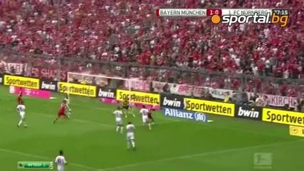 Байерн Мюнхен 2:0 Нюрнберг