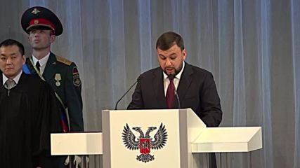 Ukraine: New DPR head Pushilin looks forward to 'a common future with Russia'