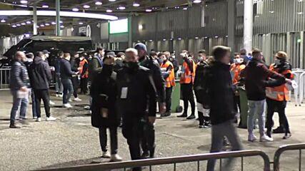 Italy: Fans gather ahead of Inter-Juventus clash at San Siro Stadium