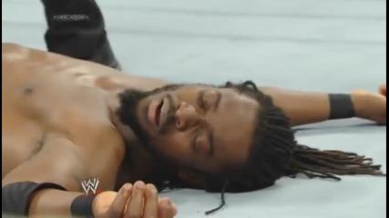 Кофи Кингстън с-у Bad News Barred / Разбиване 11.4.14 г.