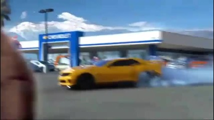 Chevrolet in Super Bowl Xlv (camaro Transformers 3)