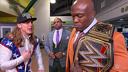 Riddle requests a match against Bobby Lashley: Raw, April 12, 2021