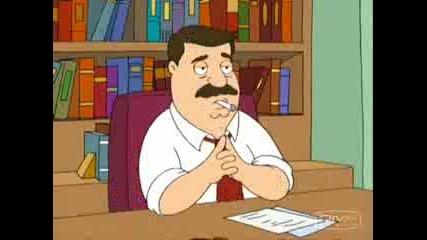 Family Guy - Стивън Кинг