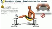 Как се правят правилно упражнения за Трицепс в дом. условия