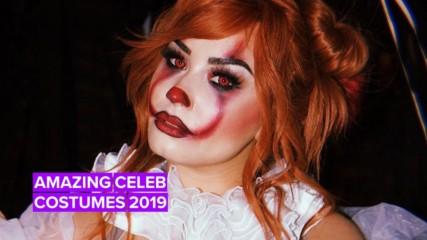ТОП 5 най-добри костюма за Хелоуин на звездите през 2019