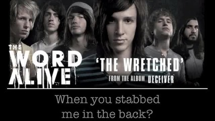 The Word Alive - The Wretched Lyrics Video