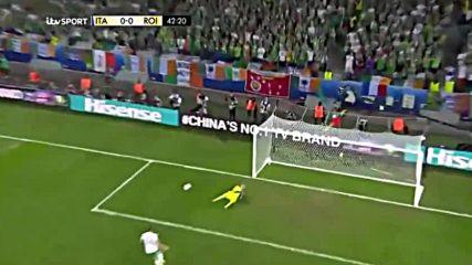 22.06.16 Италия Ирландия 0:1 * Евро 2016 *