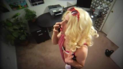 Имитация на Лейди Гага!голям смях!
