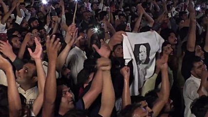 Pakistan: Thousands rally for jailed ex-PM Nawaz Sharif in Faisalabad