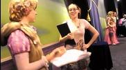 Meeting Rapunzel, Aurora and Cinderella