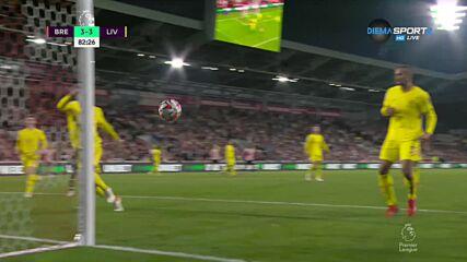 Брентфорд не се отказва срещу Ливърпул - 3:3