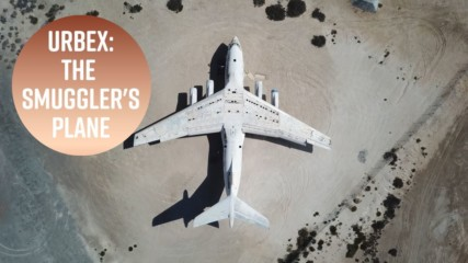 Urban Exploration: An arms smuggler's plane near Dubai