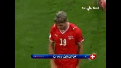 Чехия - Швейцария 1:0