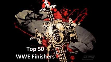 Top 50 Finishers in Wwe [www.keep-tube.com]