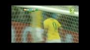 Мондиал 2014 - Камерун 1:4 Бразилия - Селесао разпиля Камерун и ще срещне Чили!