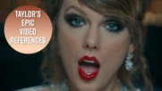 Taylor Swift's shady subliminal messages in her video