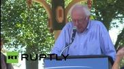 """САЩ: Берни Сандърс приканва жителите на Айова да се присъединят към неговата """"политическа революция"""""""