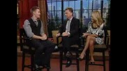 Chad Michael Murray On Regis And Kelly