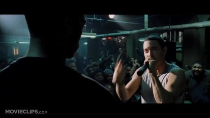 8 mile - rap battles Rabbit vs. Papa Doc (2002)