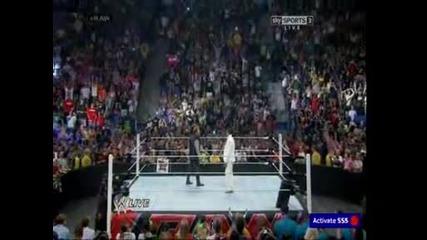 The Miz се заврьща, а сьщо и Chris Jericho - Wwe Raw - 30/6/14