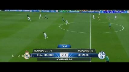 Real Madrid vs Schalke 04 3-1 18.3.2014