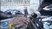Battlefield 3: Armored Kill Tank Superiority Full Gameplay on Snow Map Alborz Mountains