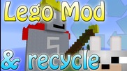 Minecraft Mods - The Lego Mod & Recycle 1.2.5 Review and Tutorial